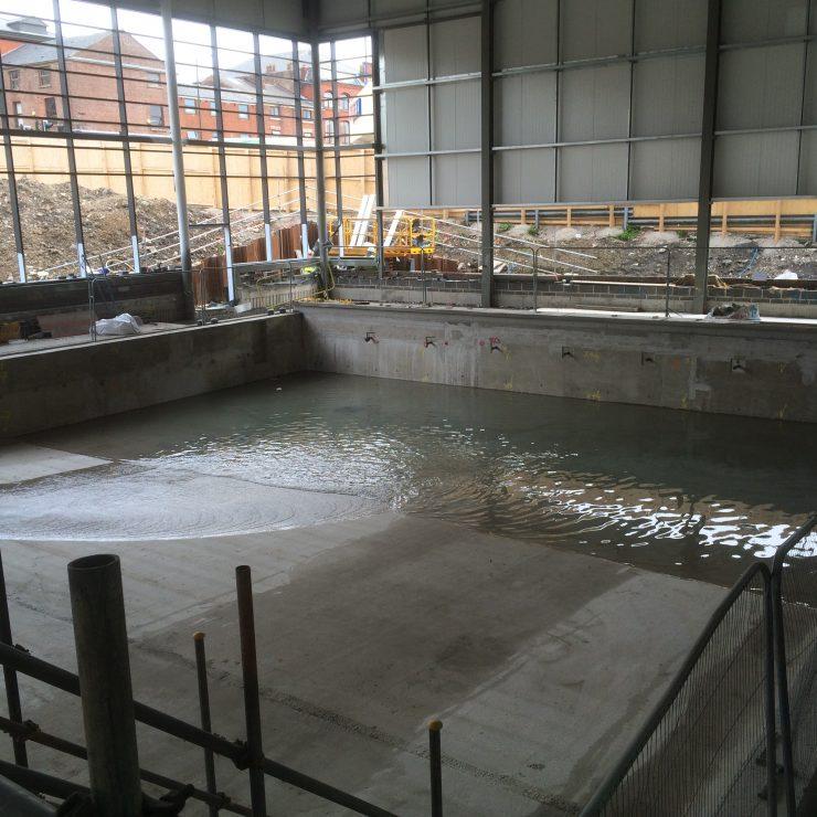 Main Swimming Pool   Testing 08.05.15